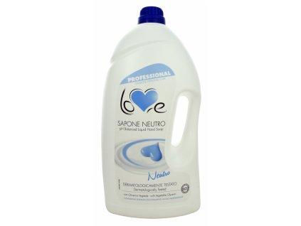 LOVE SAPONE NEUTRO LATTE 5l mýdlo