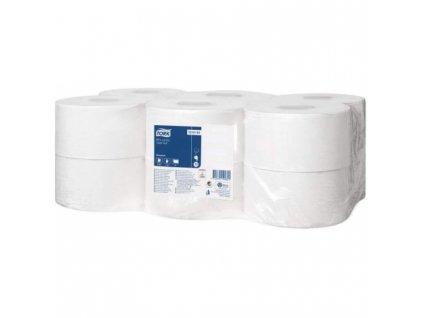 tork mini jumbo toaletni papir 1 vr sedy 240 m 12 rl kt 120161