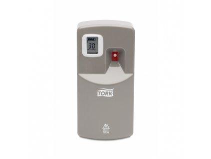 TORK elektronický zásobník na osvěžovač vzduchu, hliníkový