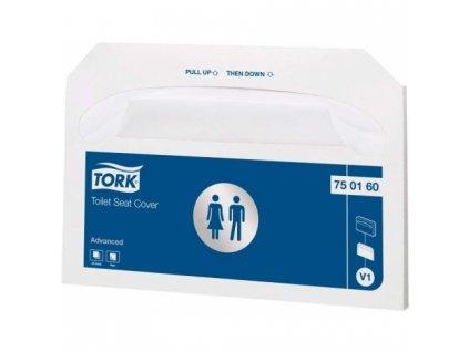 TORK papírové podložky na WC sedátka