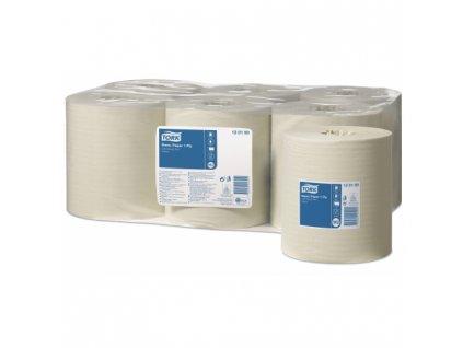 TORK Basic papírová utěrka 1vrstvá, žlutá, 300m