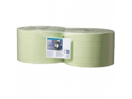 TORK průmyslová papírová utěrka, zelená, 2vr., 510m
