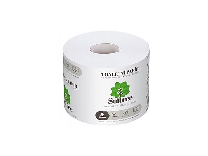 SOFTREE toaletní papír 68m 2 vrstvý bílý