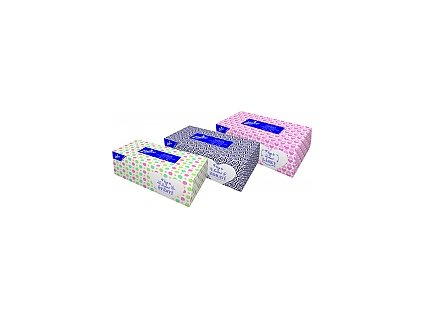 Papírové kapes.LINTEO 2 vrstvé bílé 200ks