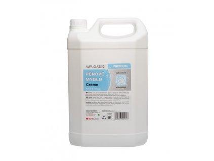 pěnové mýdlo alfa 5l