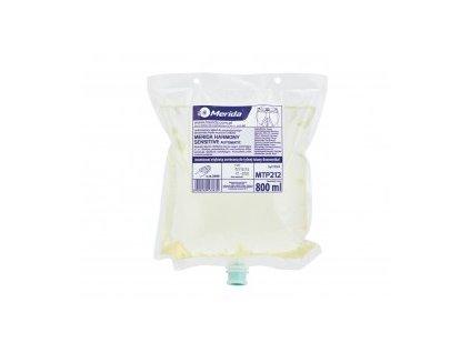 Pěnové mýdlo MERIDA Hygiene CONTROL SENSITIVE AUTOMATIC, 800 ml.