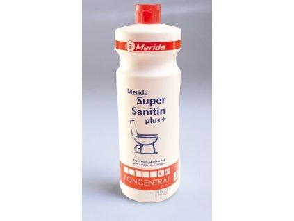 Čistící prostředek na mytí WC Merida super sanitin Plus 1 l
