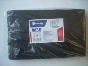 Merida Sáčky na odpadky LDPE, 30 mi,60x90cm,70 l,černé 50 ks