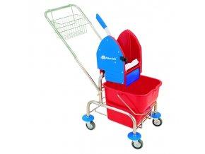 Merida Úklidový vozík jednokbelíkový,pochromovaná konstrukce (MO2)