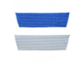 Merida Mop z mikrovlákna ECONOMY na suchý zip, modrý, 45x40x13 cm