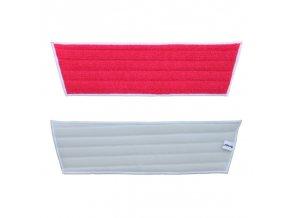 Merida Mop z mikrovlákna ECONOMY na suchý zip,červený, 45x40x13 cm