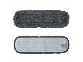 Merida Mop z mikrovlákna STANDARD, suchý zip, 47 cm, šedý