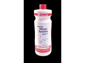 Prostředek na koupelny Merida NANO SANITIN Plus 1 l.