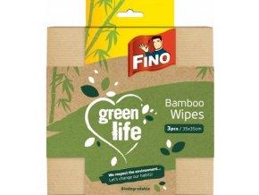 Fino Green Life Bambus multifunkční utěrka, 3 ks