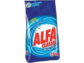 Prášek na praní fy Alfa Classic 2,5kg