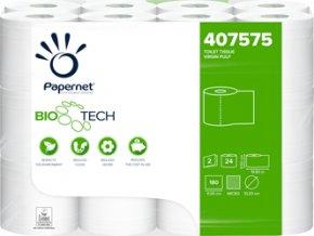 PAPERNET Biotech Toaletní Papír 2vr. celulóza 407575 24 ks