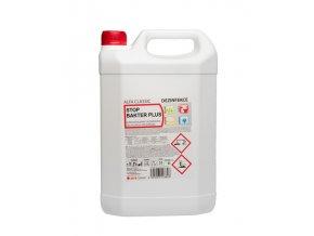 STOP BAKTER PLUS, 5l, dezinfekční prostředek na povrchy a plochy, účinná látka KAS