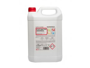 STOP BAKTER UNIVERZAL, 5l, dezinfekční a čisticí prostředek