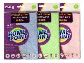 Home Point Švédská utěrka Hana 30 x 30 cm mikrovlákno 210 g 1 ks