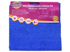 HP Mikrovlákno; 30x30 cm; 320 g, PU; mix barev