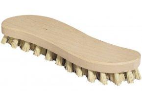 Kartáč na podlahu; 21x5 cm; dřevo, plast