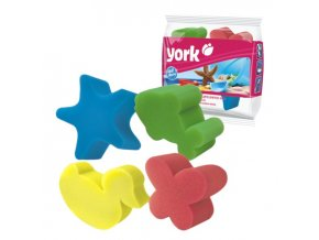 Houba dětská, sada 4 ks; 9x8x5 cm; plast; mix barev