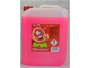 Korspík úklidový červený grep Profi (14,5%) konc. 5000 ml