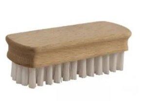 Kartáček dřevěný jednostranný; 10x3,5 cm; chlup 1,5 cm; dřevo, plast