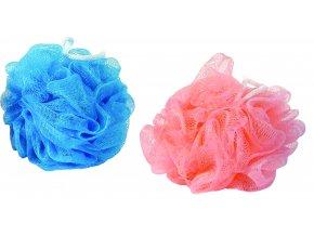 HP Žínka RŮŽE masážní; 10x10 cm; 30 g; plast; mix barev