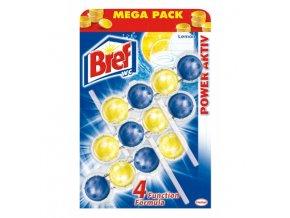 Bref power aktiv wc blok lemon 3 x 50 g