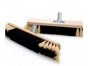Cleanex smeták dřevěný  s kováním 60 cm