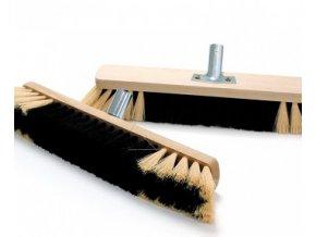 Cleanex smeták dřevěný  s kováním 80 cm