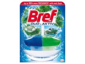 Bref duo activ WC závěs komplet Clean Fresh pine fresh 50ml