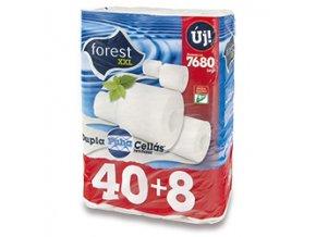 Forest XXL bílý 2-vrstvý 48 ks