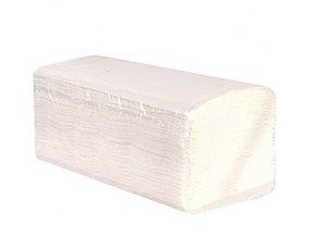 Papírové ručníky bílé skládané ZZ 2-vrstvé 100 % celuloza 3200 ks
