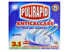 Pulirapid Anticalcare Tabs 16 tablet