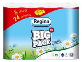 Toaletní papír Regina Big Pack Kamilla 3-vrstvý  24 ks