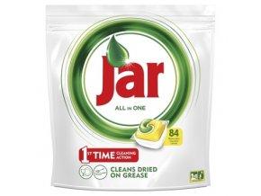 Jar Vše-v-1 Lemon kapsle do automatické myčky nádobí 84 ks