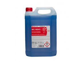 WC REVO PREMIUM, 5 l, modré, čisticí prostředek na toalety
