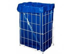 Drátěný  skládací odpadkový  koš 60 l