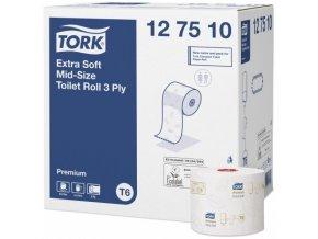 TORK Mid–Size extra jemný 3vrstvý toaletní papír