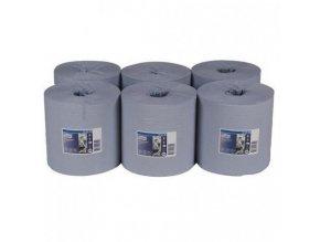 TORK modré papírové ručníky v roli