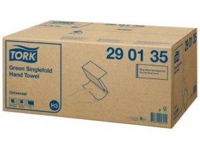 TORK Singlefold zelené papírové ručníky