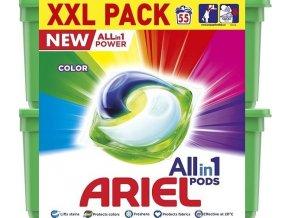 Ariel Allin1 Pods Color Kapsle Na Praní 55 Praní