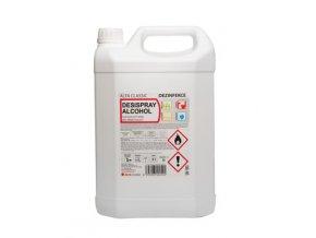 DESISPRAY ALCOHOL, 5l, dezinfekční prostředek pro přímé použití
