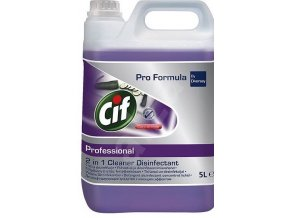 Cif Professional 2in1 Cleaner Disinfecant 5 l