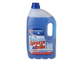 Spruzza e Brilla na mytí tvrdých omyvatelných povrchů 5l