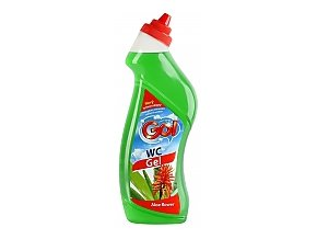 GO! WC GEL ALOE FLOWER 750ml zelený