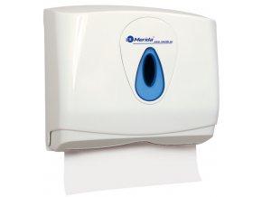 Zásobník na jednotlivé (skládané) papírové ručníky MERIDA TOP - MINI