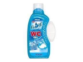 FLORE WC GEL 400ml OCEAN gel do košíčků toalet